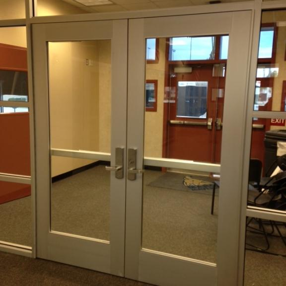 Glass and aluminum doors personnel doors doors repair of glass and aluminum business doors we have the experience need for manual open auto open and well as high security doors with access control planetlyrics Image collections