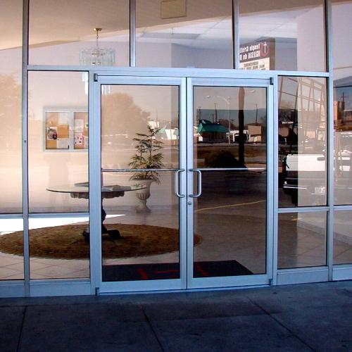 Glass and aluminum doors personnel doors doors repair of glass and aluminum business doors we have the experience need for manual open auto open and well as high security doors with access control planetlyrics Choice Image