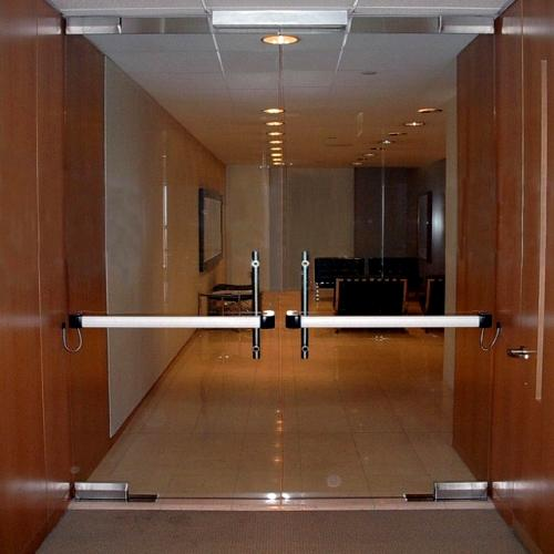 Features & Doors featuring HERCULITE® glass | Personnel Doors | Doors