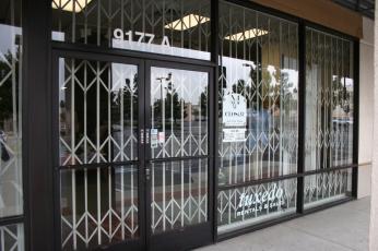 Cdms Installs Commercial Grade Scissor Gates For Storefronts