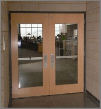 Commercial Glass Exterior Door commercial door metal systems - personnel