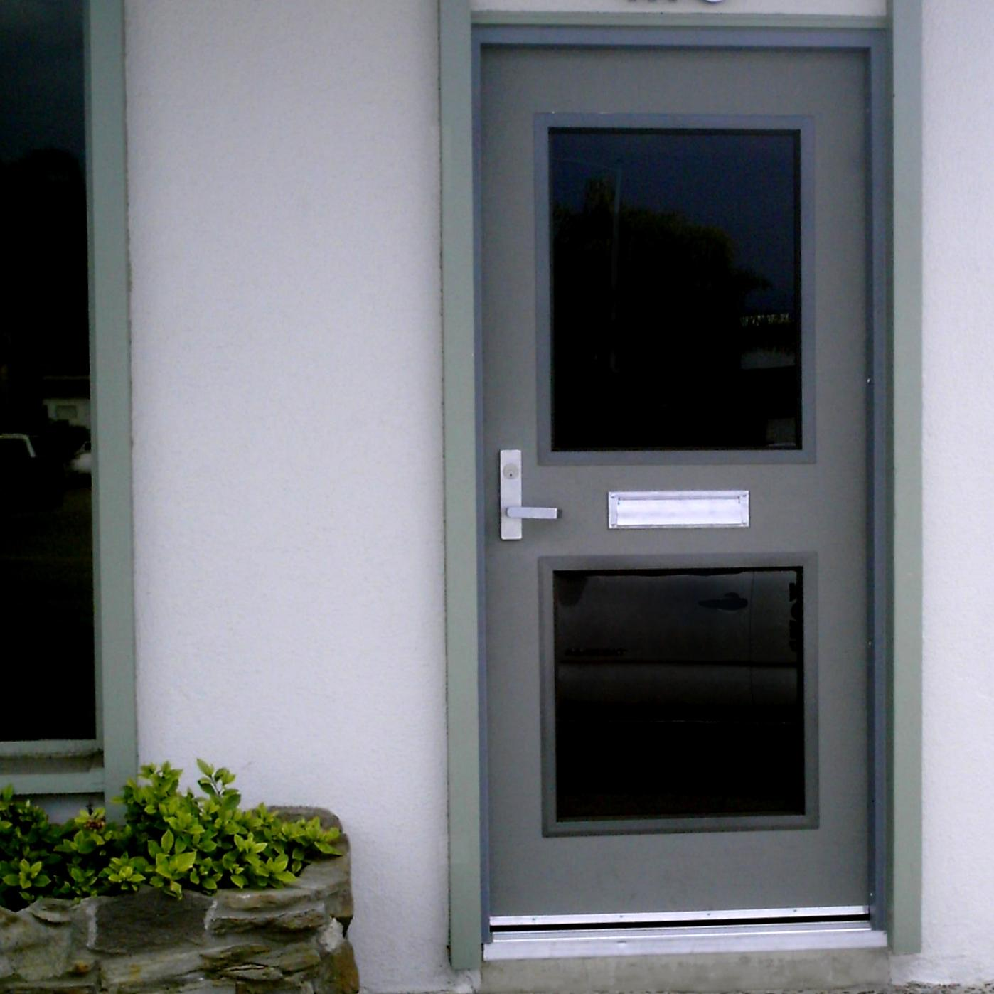 Exterior metal doors with glass images glass door design for Front door rachel zeffira lyrics