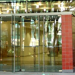 Doors featuring HERCULITE® glass